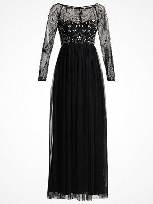 Lace & Beads ALEXANDRA MAXI Festklänning black