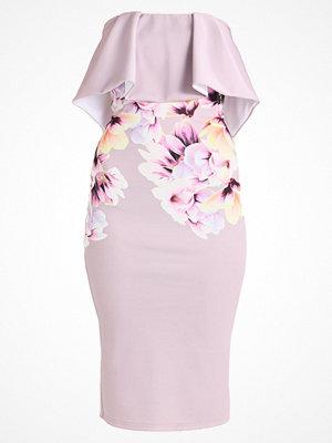 True Violet ROME FRILL DETAIL DRESS Jerseyklänning lilac