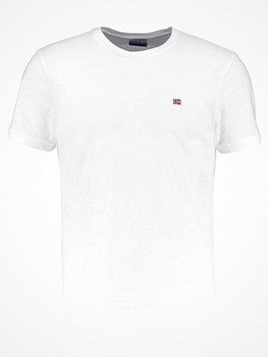 Napapijri SENOS CREW Tshirt bas bright white