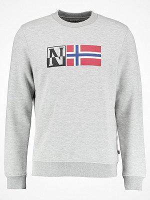 Napapijri BENOS CREW Sweatshirt medium grey melange