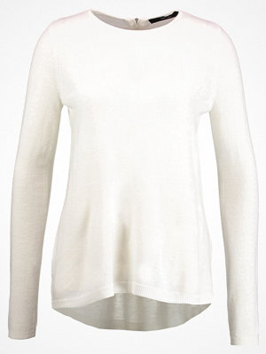 Vero Moda VMSAMI ZIPBACK  Stickad tröja pristine