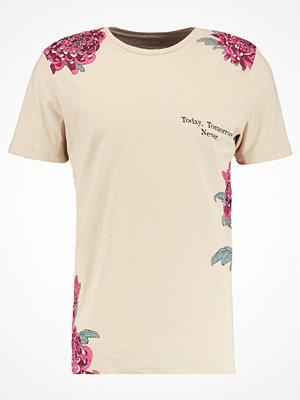 Jack & Jones JORKRANS CREW NECK Tshirt med tryck feather gray