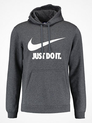 Nike Sportswear JUST DO IT Luvtröja charcoal heathr/white