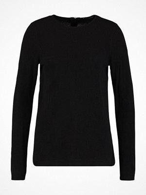 Vero Moda VMSAMI ZIPBACK  Stickad tröja black