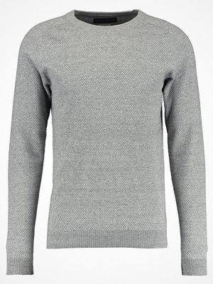 Jack & Jones JPRCRUISE CREW NECK Stickad tröja light grey melange