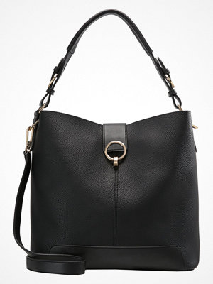 Topshop svart shopper HARPER HOBO Shoppingväska black