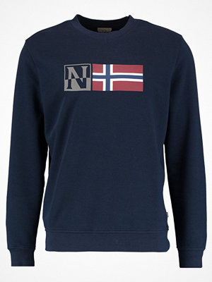 Napapijri BENOS CREW Sweatshirt blu marine