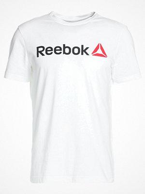 Reebok DELTA READ TEE Tshirt med tryck white