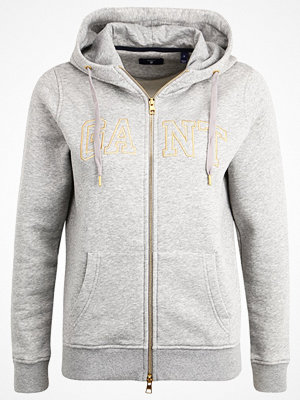 Gant GOLD FULL ZIP HOODIE Sweatshirt grey melange