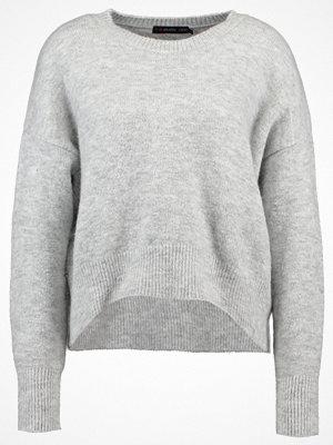 Even&Odd Stickad tröja mottled light grey
