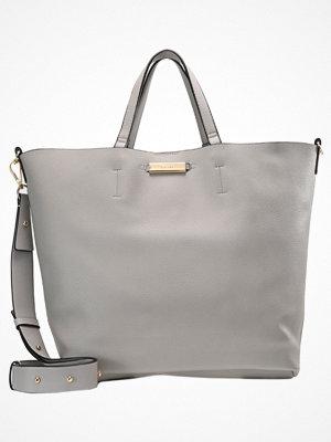 Topshop ljusgrå shopper SELINA SOFT Shoppingväska grey