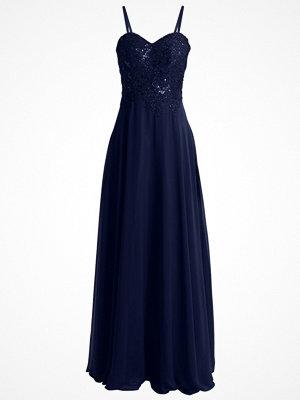 Luxuar Fashion Festklänning blau
