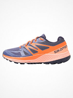 Salomon SENSE ESCAPE Löparskor terräng crown blue/coral almond/nasturtium