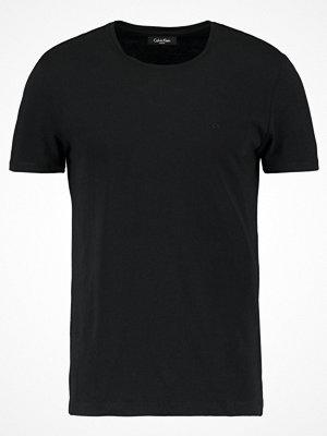 Calvin Klein TRAVOR CREW NECK Tshirt bas black