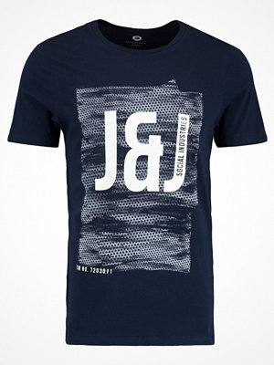 Jack & Jones JCOPROFILE TEE CREW NECK Tshirt med tryck sky captain