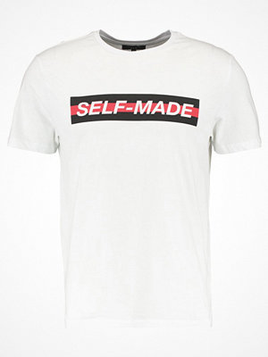 New Look SELF MADE TEE Tshirt med tryck white