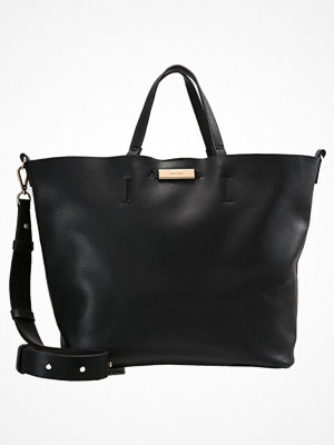 Topshop svart shopper SELINA SOFT Shoppingväska black