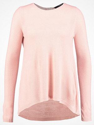 Vero Moda VMSAMI ZIPBACK  Stickad tröja misty rose
