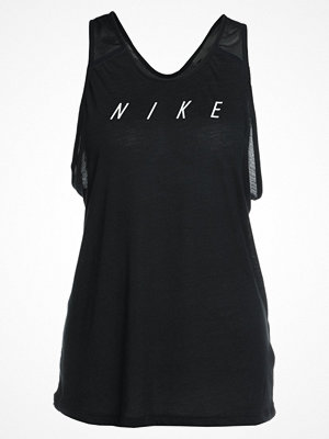 Nike Performance TANK FLOW Funktionströja black/white