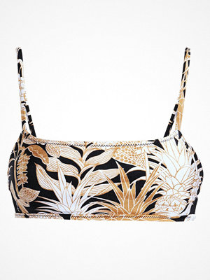 Minkpink TROPICAL PUNCH CROP  Bikiniöverdel black/gold