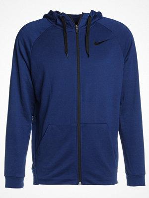 Nike Performance DRY FULL ZIP HOODIE Sweatshirt blue void/black