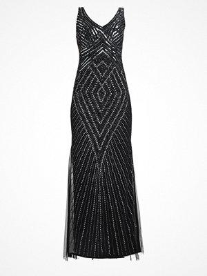 Lace & Beads DENIZ MAXI Festklänning black