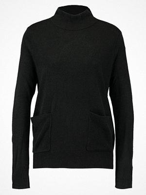 Vero Moda VMSAMI HIGHNECK Stickad tröja black
