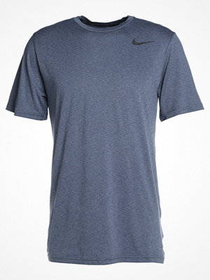 Nike Performance BREATHE HYPER DRY Tshirt bas light carbon/thunder blue/hyper crimson