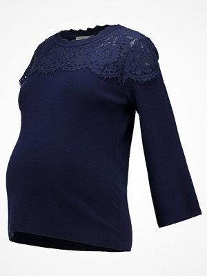 Anna Field MAMA Stickad tröja dark blue