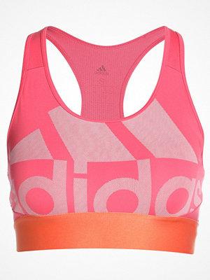 Adidas Performance LOGOBRA UNPAD Sportbh real pink