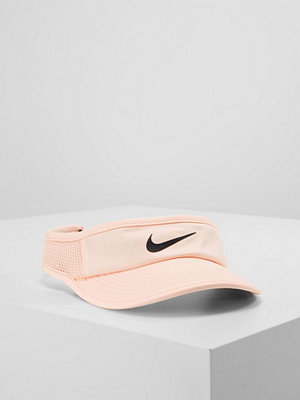 Kepsar - Nike Performance WOMEN AEROBILL FEATHERLIGHT VISOR ADJUSTABLE Keps crimson tint/black