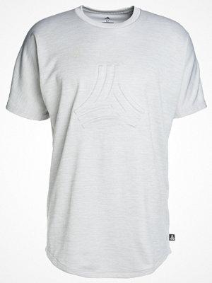 Adidas Performance TAN TERRY  Tshirt med tryck light grey heather