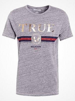 True Religion LOGO Tshirt med tryck grey
