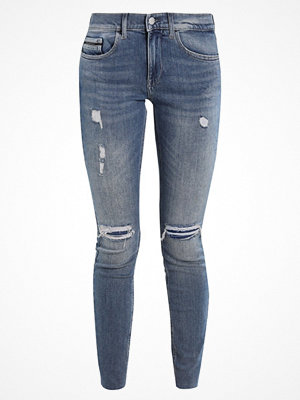 Calvin Klein Jeans MID RISE SKINNY ANKLE RAW Jeans Skinny Fit thermal