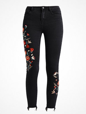 New Look EMBROIDERED DISCO ZOEY COSTA RICA Jeans Skinny Fit black