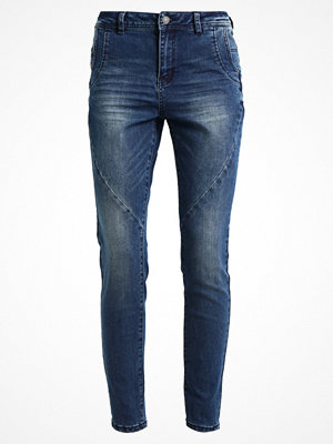 Vero Moda VMFROZEN ANTIFIT Jeans slim fit medium blue denim