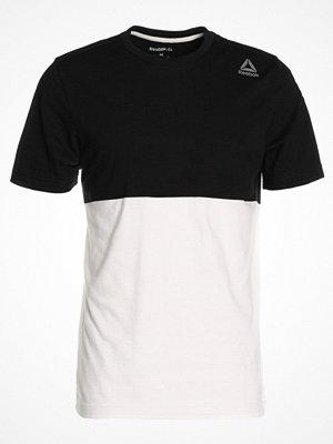 Reebok EL YARN DYE Tshirt med tryck black