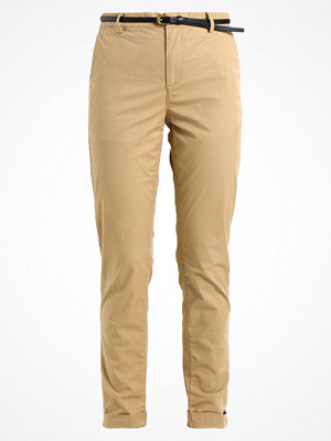 Scotch & Soda omönstrade byxor CLEAN Chinos sand