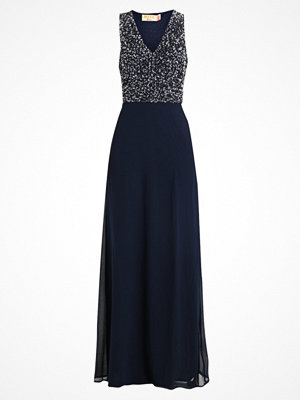 Maya Deluxe CLUSTER SEQUIN BODICE MAXI WITH BOW DETAIL Festklänning navy