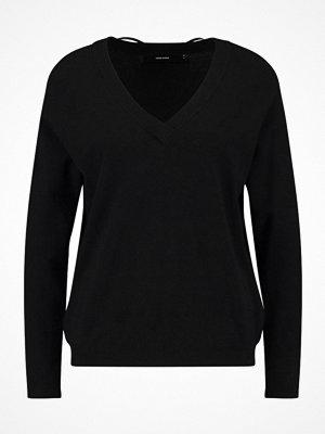 Vero Moda VMKARIS VNECK Stickad tröja black