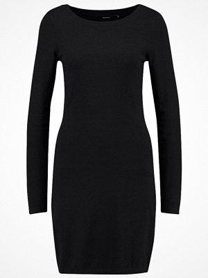 Vero Moda VMKARIS DIXON BOATNECK DRESS BOO Stickad klänning black