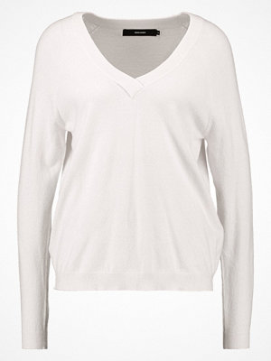 Vero Moda VMKARIS VNECK Stickad tröja pristine
