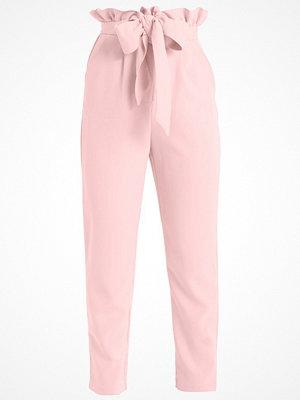 Lost Ink PAPER BAG TROUSER Tygbyxor pink gammelrosa