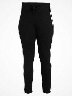 Missguided Plus Leggings black/white