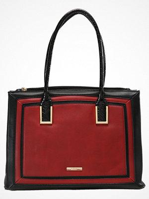 LYDC London Handväska red black