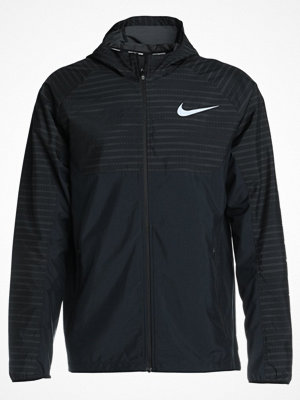 Nike Performance ESSENTIAL HOODED Löparjacka anthracite/reflective silver