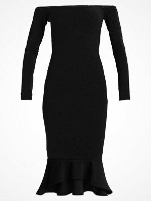 Missguided BARDOT FISHTAIL DRESS Fodralklänning black