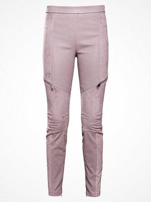 Karl Lagerfeld Skinnbyxor silver gray omönstrade