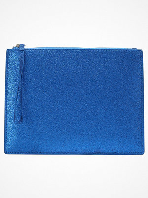 Only ONLLIZUZ GLITTER Kuvertväska blue blå