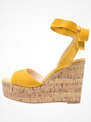 Topshop WICKED Sandaletter yellow
